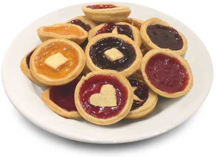 Wonderful jam tarts