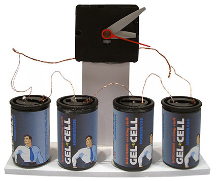 Gel cell battery experiment