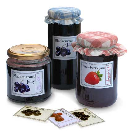 dadcando print your own homemade jam labels
