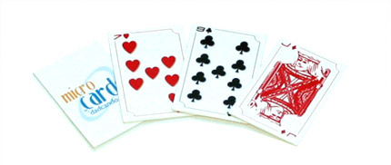 MicroCards - Printable Playing Cards - Standard Set