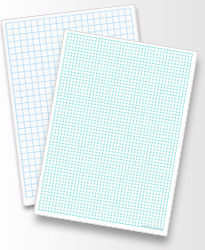 maths grid ruled paper