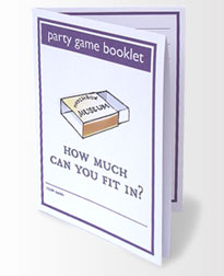 matchbox museum party game booklet