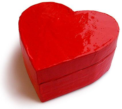 Origami Heart Box Template