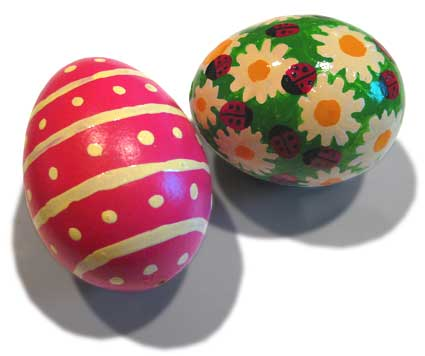 Paint your own pretty eggs