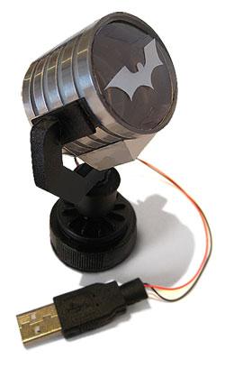 batman Spotlight, make your own model from Junk project