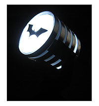 batman Spotlight in the dark, make your own model from Junk project