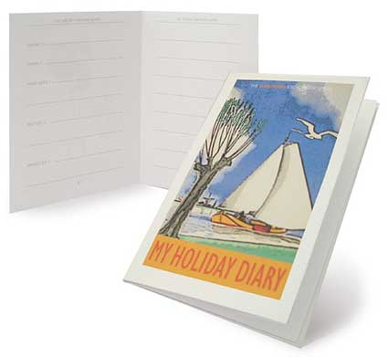 make your own microbook Summer holiday diary