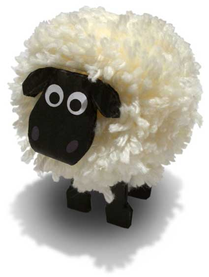 pompom Shaun the sheep