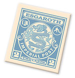 Dragon stamps from Esgaroth