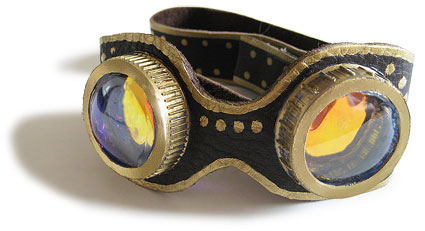 make your own Steampunk goggles