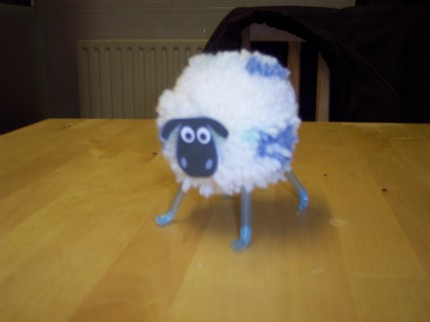 AdyW3's Fluffy Sheep