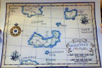 IsisOfSun's Design an Antique Map