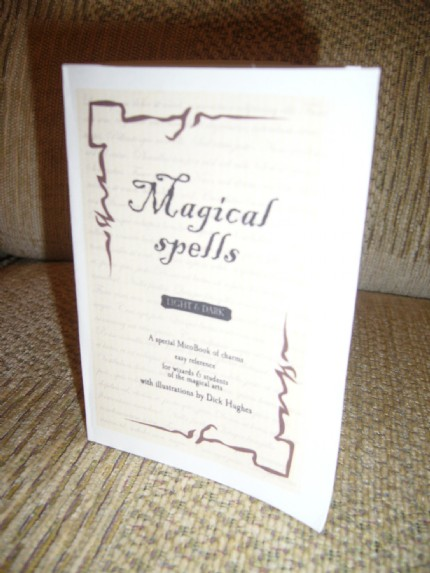 Ruth's Spells, Charms and Curses MicroBook