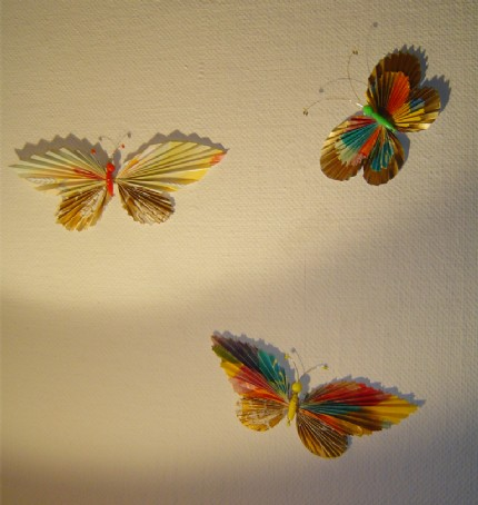 Sugarplum's Paper Butterfly