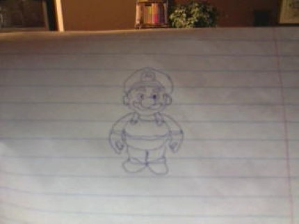 Superbrick's How to draw Mario