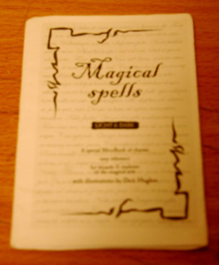 chris98's Spells, Charms and Curses MicroBook