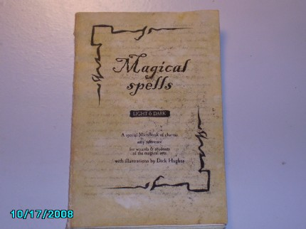 jedififer's Spells, Charms and Curses MicroBook