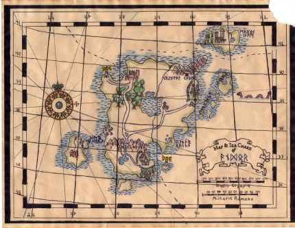 jedififer's Design an Antique Map