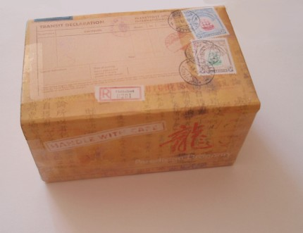 mylie's Antique Mailing Box
