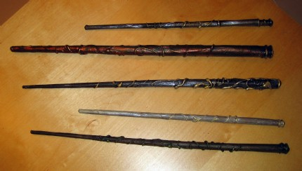 sallyGrist's Wizard's Wands