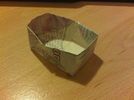 tonywig's Origami Money Box